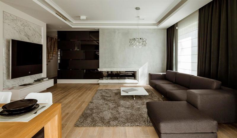 อพาร์ทเม้นแบบ  minimalist วอร์ซอเพล็กซ์