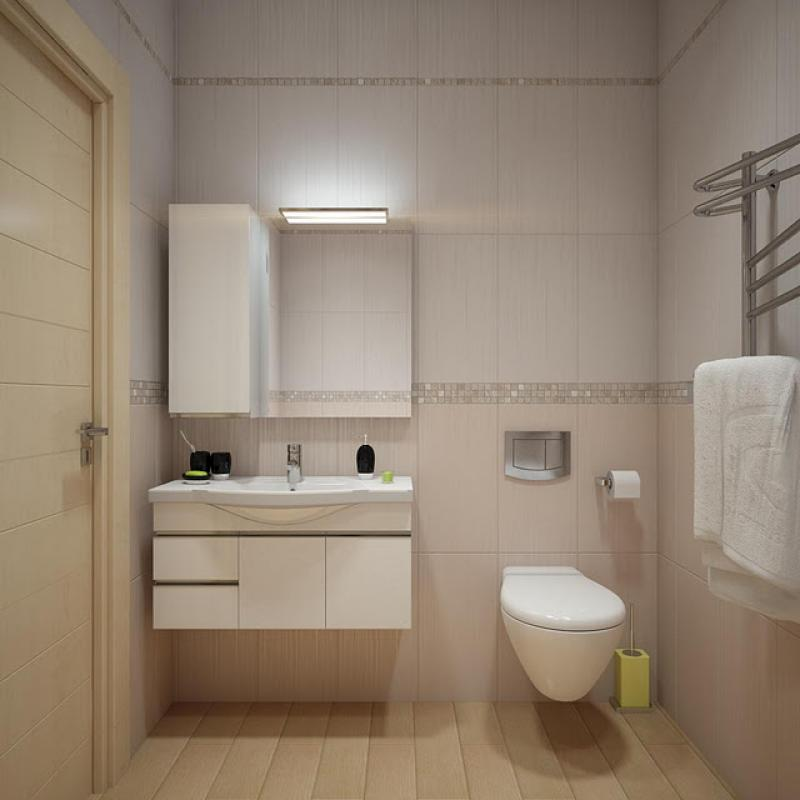 ห้องน้ำที่ผสมการออกแบบวินเทจกับสมัยใหม่ ที่ลงตัว