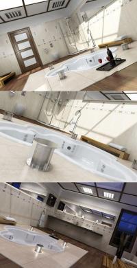 ห้องอาบน้ำแบบชิว ๆ