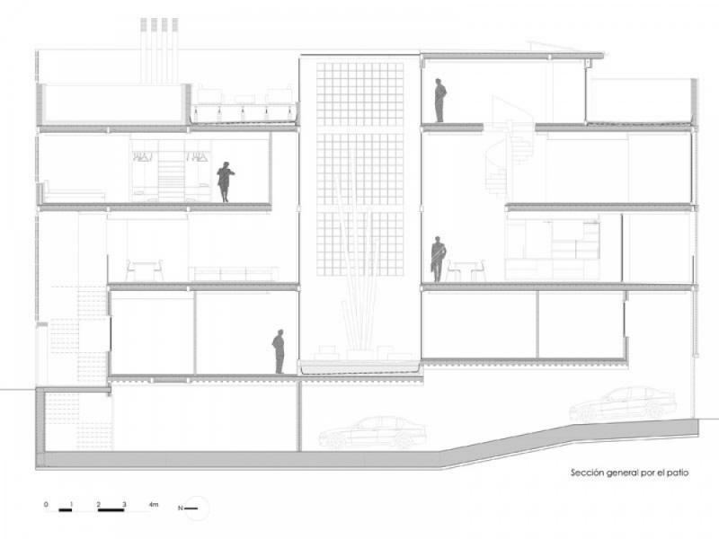 บ้านทาวน์เฮ้าส์หน้าแคบ 12 ฟุต โปร่งโล่งมองเห็นความโปร่ง