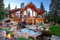บ้านไม้สุดหรูสไตล์รีสอร์ท พร้อมฉากธรรมชาติอันงดงาม