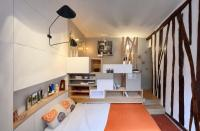 ห้องพักขนาดเล็ก 12 ตารางเมตร มินิสตูดิโอ