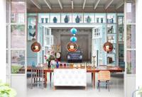 บ้านสวยวินเทจ ความสนุกสดในของโทนสี แรงบันดาลใจจากโรงรถในอดีต