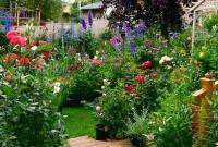 จัดสวนสวย สไตล์อังกฤษ พื้นที่จำกัดหรือขนาดเล็ก