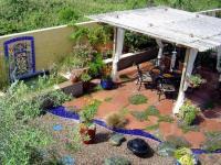 จัดสวนสวย  7 วัสดุปูพื้นกลางแจ้ง