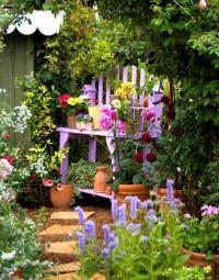 จัดสวนสวย แบบกระถางสวย วัสดุอุปกรณ์ซึ่งล้วนมีอยู่ในบ้าน
