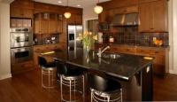 การเลือกใช้สีภายในห้องครัว สำหรับธาตุไม้