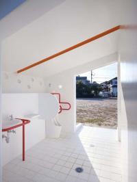 ห้องน้ำสาธารณะสุดสวย ดีไซน์ญี่ปุ่น