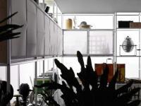 ตกห้องครัว แนวใช้หน้าบานทำด้วยผ้า